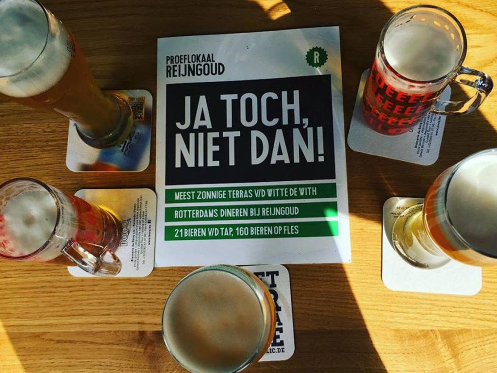 Shopping gids Rotterdam Proeflokaal Reijngoud bieren quote